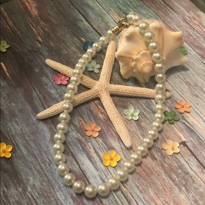 Jewelry - Chunky White Pearl Necklace